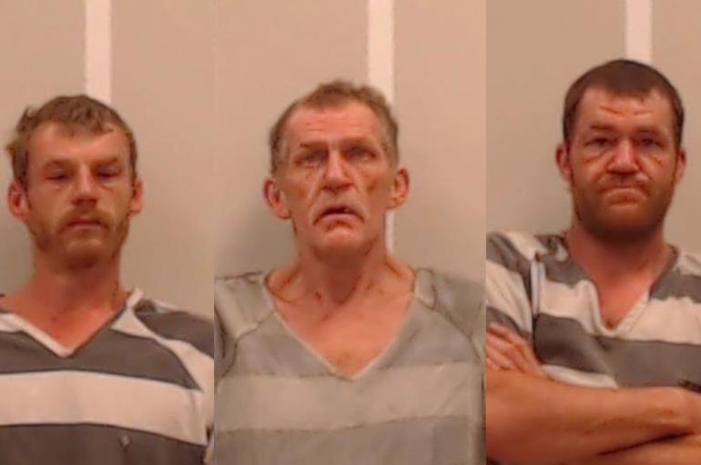 Investigation leads to three arrests, stolen vehicle found