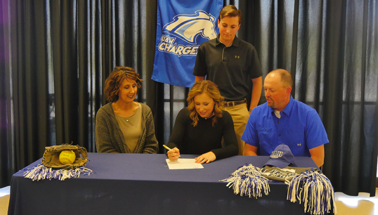 Plainview's Ava Jacobs signs with the University of Alabama – Huntsville
