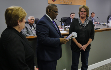 VIDEO: DeKalb BOE honors Mary Jo Chandler for 51 years of service