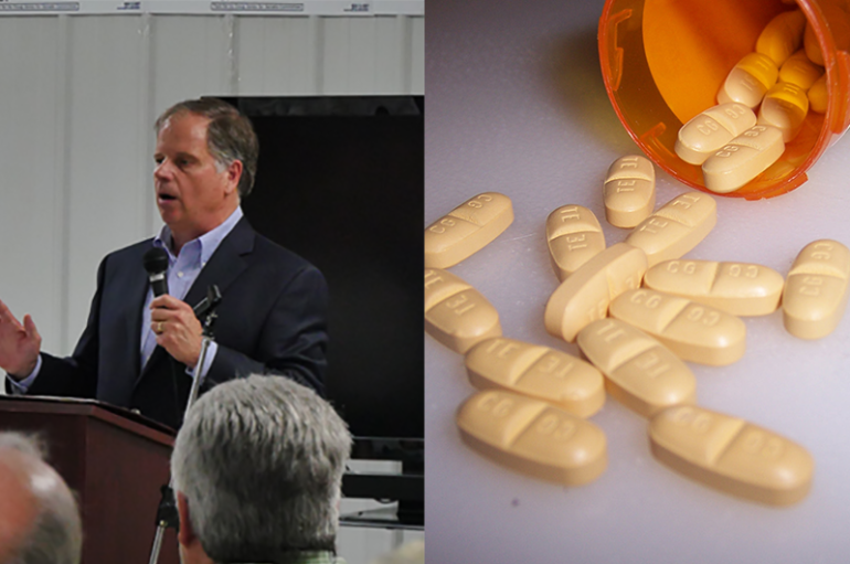 U.S. Senator Doug Jones discusses bipartisan efforts in the opioid crisis