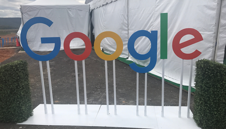 Groundbreaking held this week for new Google Data Center