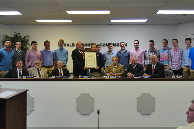 VIDEO: County honors Plainview basketball with resolution