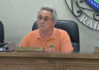 VIDEO: Byrum challenges Southern Torch reporting on Road Project
