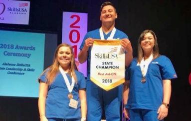 Hartline excels in SkillsUSA; accepted into NACC Nursing
