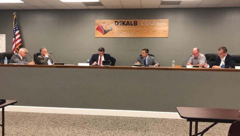 DeKalb BOE Discusses Safety