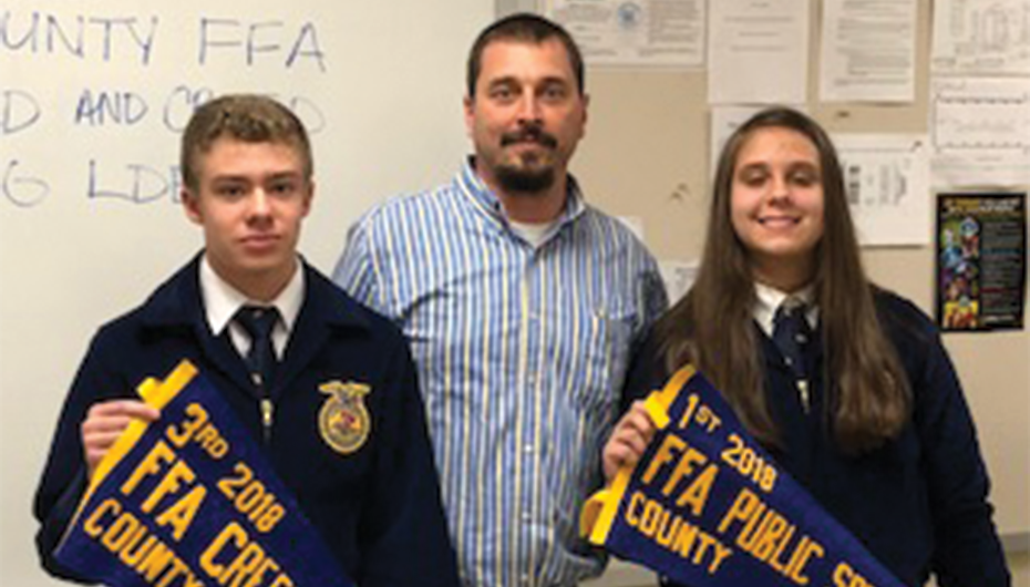 Stevens places at state FFA