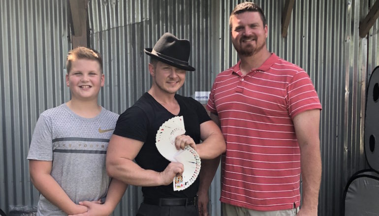 Celebrity Magician Stops in Fort Payne