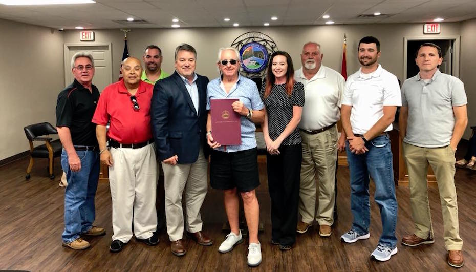 Clifton Honored at Council Meeting
