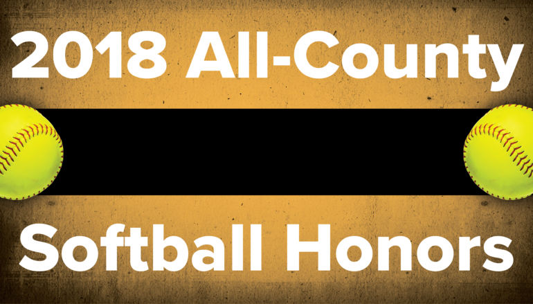 2018 All-County Softball Honors