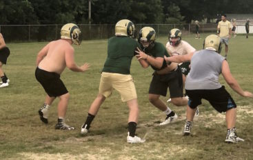 Inside The Huddle with the Sylvania Rams!