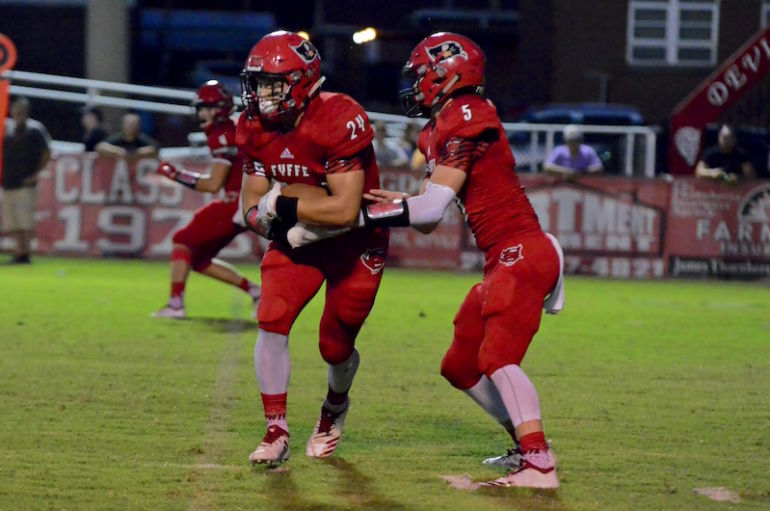 Red Devils Incinerate the Rams