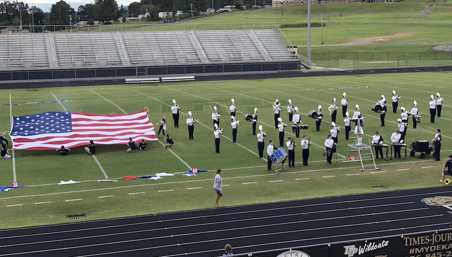 DeKalb Bands in Exhibition