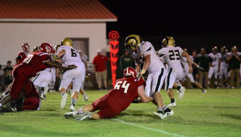 Rams Rule Over Bulldogs