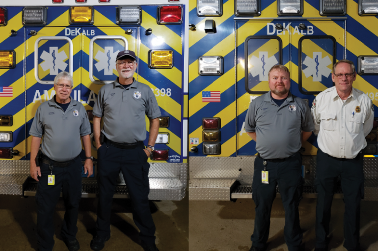 DeKalb Ambulance Service responds to Hurricane Michael