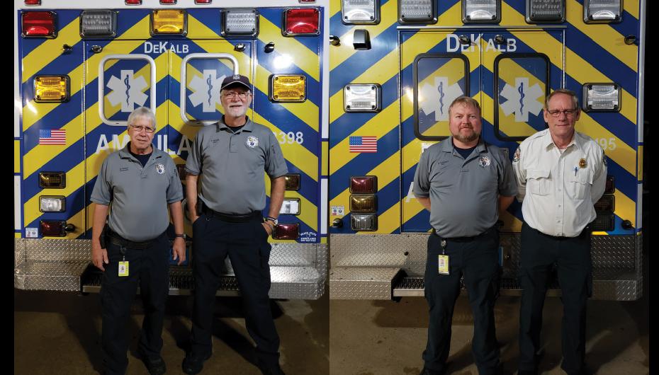 DeKalb Ambulance Service responds to Hurricane Michael