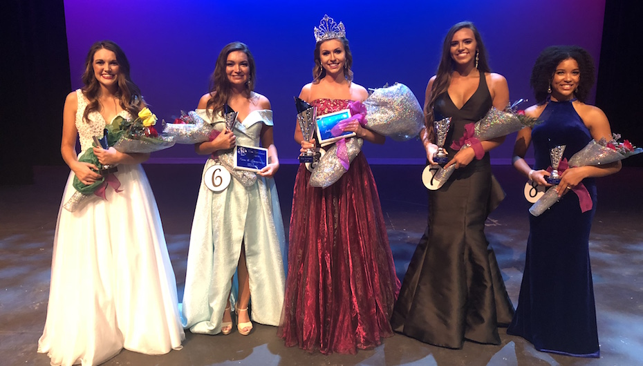 Chapman crowned Miss Northeast