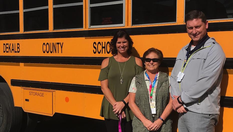 DeKalbs Schools spotlight Bus Safety Week