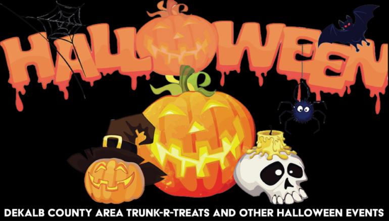 Trick R Treat in DeKalb County next week!