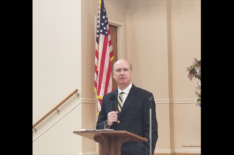 Aderholt makes campaign stop