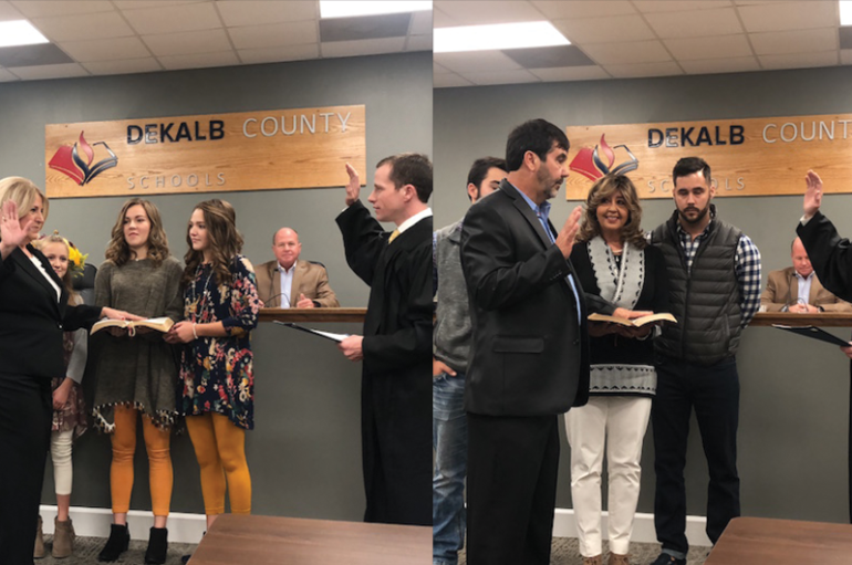 DeKalb BOE welcomes new members
