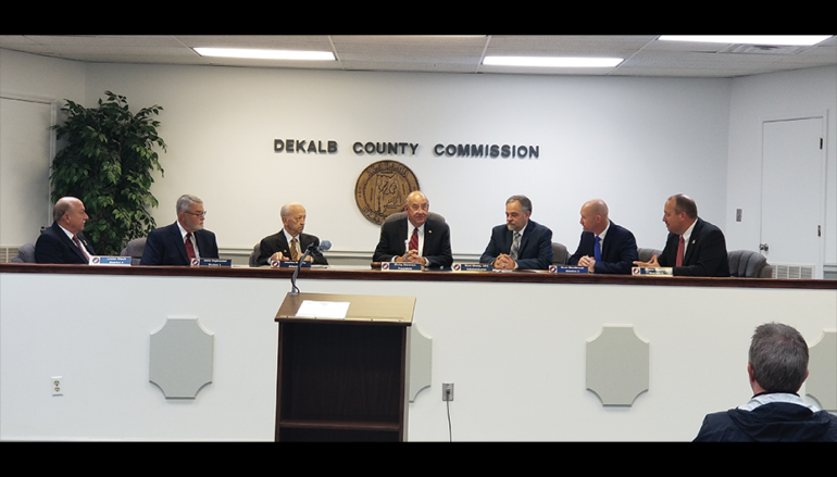 County Swears in Commissioners