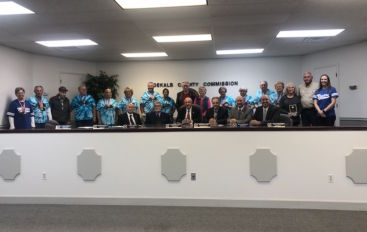 County recognizes Master's Games participants
