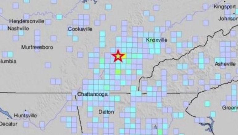 Small Earthquakes shake Southeast
