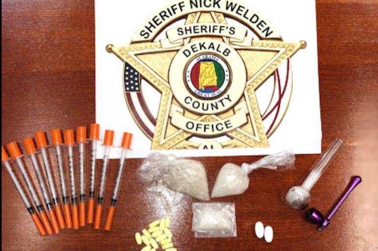 Drug Task Force Agents make Meth Arrests