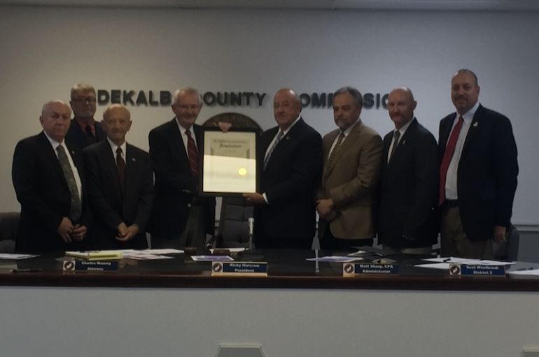Commission Honors Judge Randall Cole