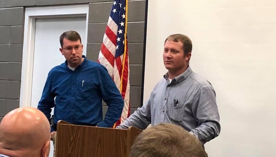 Welden Sworn-in as DeKalb County Sheriff