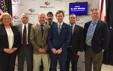 Mackey Makes Stop in DeKalb County