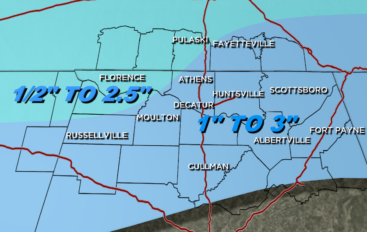 North Region prepares for snow/ice