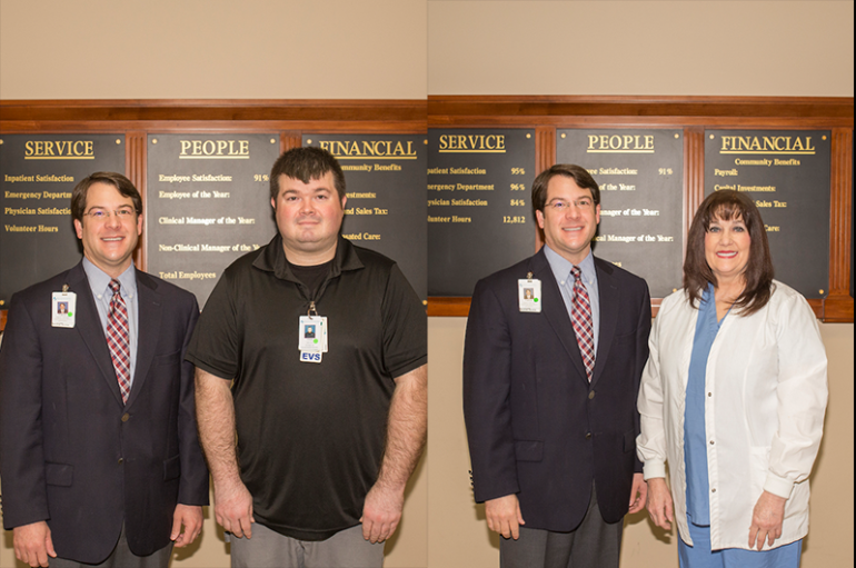 DeKalb Regional Names Employees of the Year
