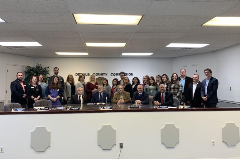 Commission hosts Leadership DeKalb