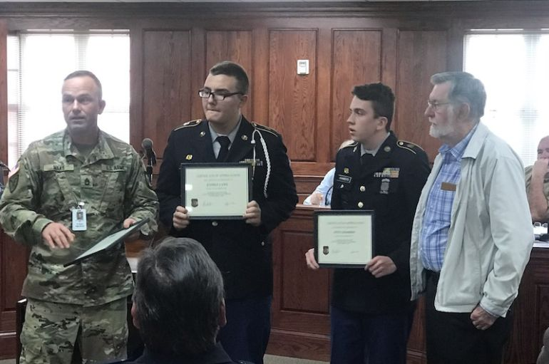 FP Council Honors ROTC