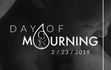Local prayer meeting to support pro-life on National Day of Mourning