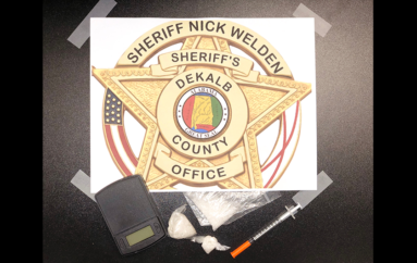 Meth Confiscated after Chase