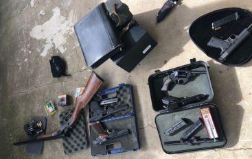 Stolen Guns Recovered in Crossville, Three in Jail
