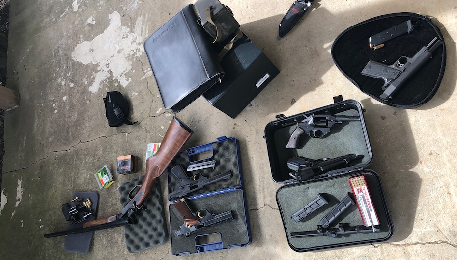 Stolen Guns Recovered in Crossville, Three in Jail