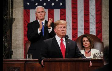 CBS NEWS POLL: 76 Percent of SOTU Viewers Approve of Trump's Address