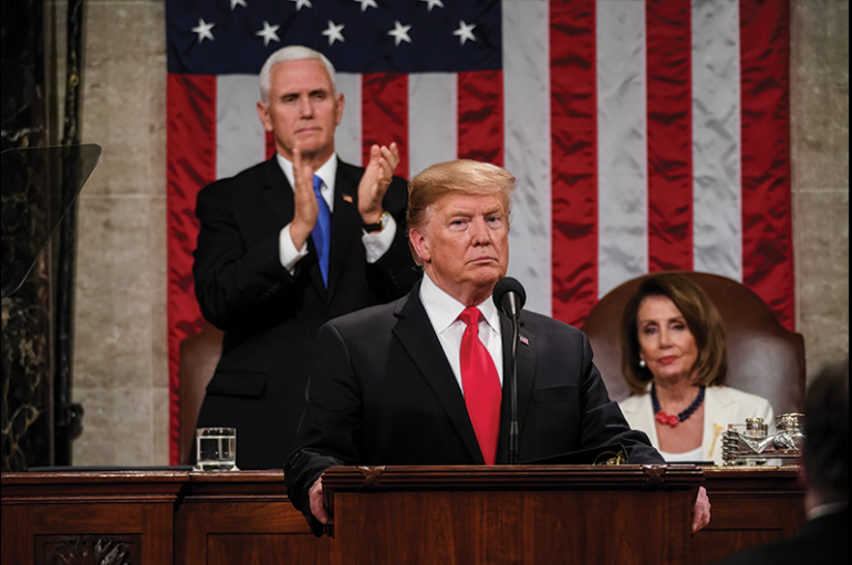 CBS NEWS POLL: 76 Percent of SOTU Viewers Approve of Trump's Address