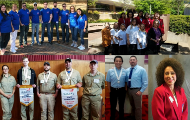NACC SkillsUSA Members & Advisors Bring Home State Awards