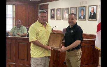 Fort Payne Honors Retired Firefighter