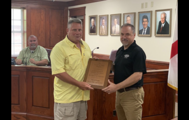 Fort Payne Honors Retired Firefighter