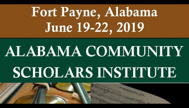 Alabama Community Scholars Institute Coming to Fort Payne