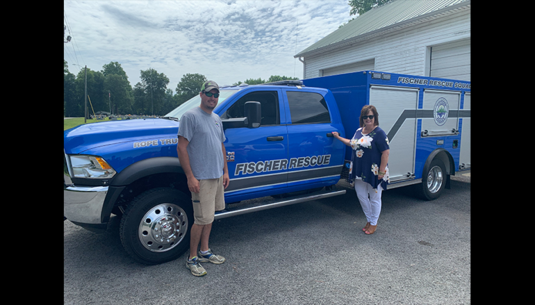 Fischer Rescue Purchases New Truck