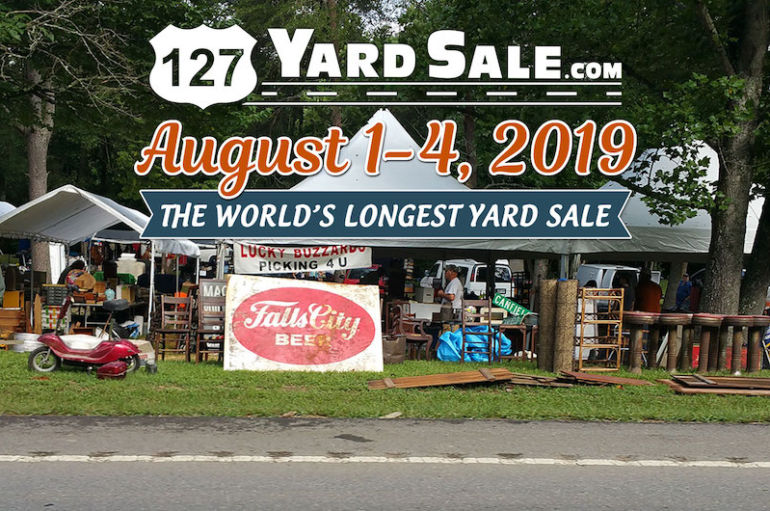 The World's Longest Yard Sale