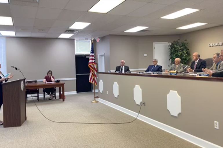 Departments Deliver Updates to Commission