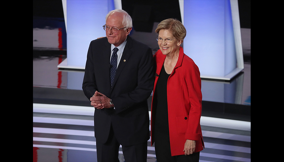 Moderate Democrats Make Their Last Stand During CNN Debate