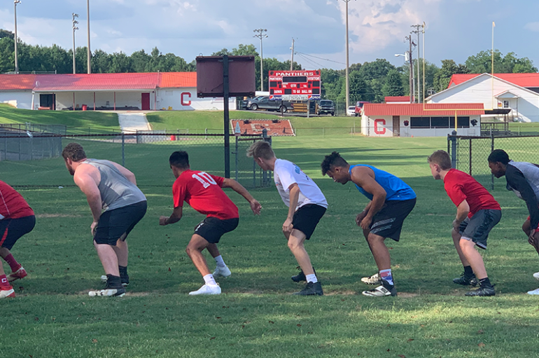 Inside The Huddle with the Collinsville Panthers